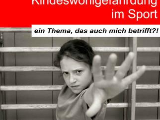 Kindeswohlgefährdung im Sport – ein Thema, das auch mich betrifft?! am 12.07.2019