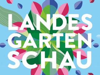 Informationen zum Landkreispavillon auf der Landesgartenschau 2020