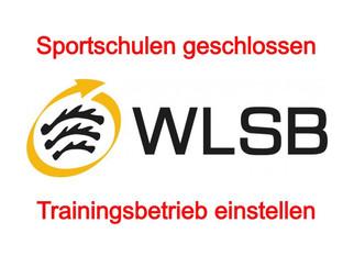 Sportschulen geschlossen - Trainingsbetrieb einstellen
