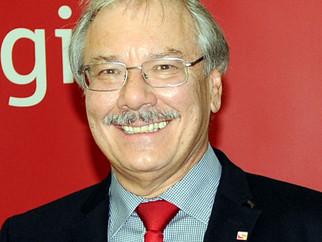 Rudolf Landwehr gibt sein Amt ab