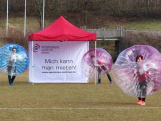 Verleihservice jetzt mit Bubble Soccer