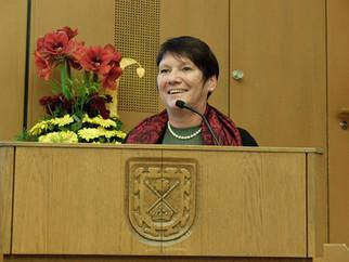 Elvira Menzer-Haasis lobt die Sportvereine