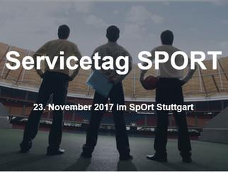 Servicetag SPORT - Anmeldeschluss 10.11.2017