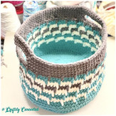 Just finished this basket! I started thi