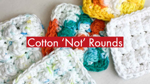 Crochet Cotton Facial 'Not' Rounds - Free Pattern Included