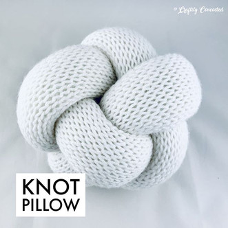 Knot pillows on repeat! 🤩⁣ Knot pillows