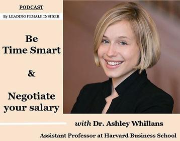 Dr. Ashley Whillans Leading Female Insid