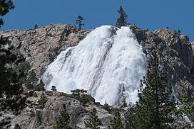 June Lake Loop Waterfall