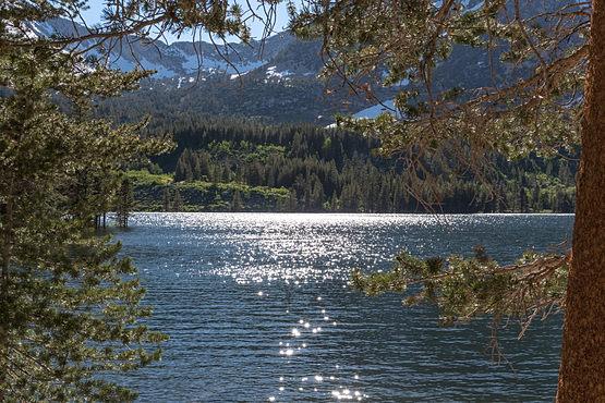 Serene Rock Creek Lake
