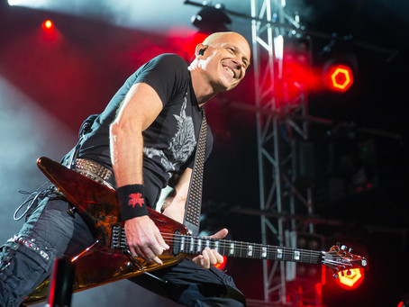 Wolf Hoffmann of Accept on this weeks Rob Sas Rock Show