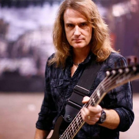 (Podcast) Megadeth bassist David Ellefson - check out the show!