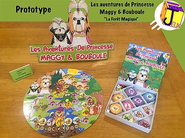Prototype Princesse Maggy et Bouboule