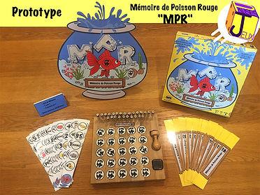 Prototype Mémoire de Poisson rouge