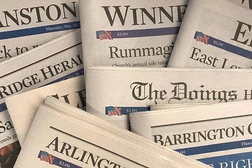 Chicago Tribune Publication - Pioneer Press