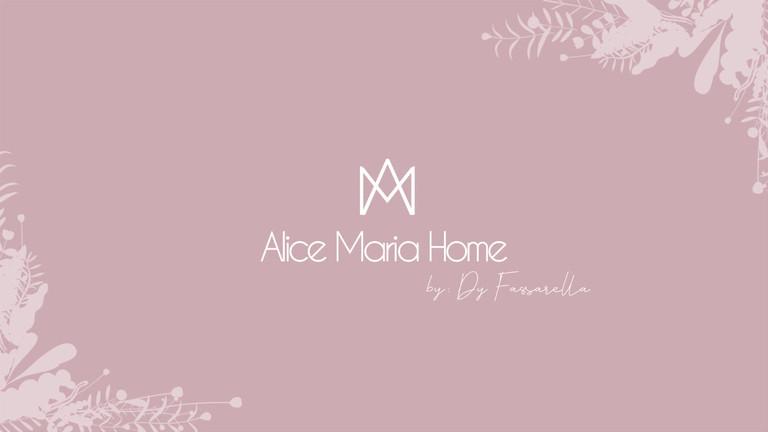 Apresentação Logo Alice Maria Home