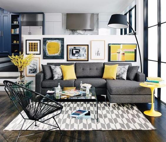importancia significado das cores amarelo cinza