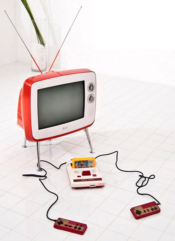 tv retro lg edição limitada