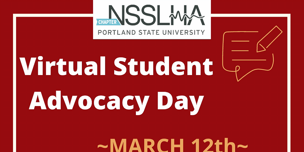 Virtual Student Advocacy Day