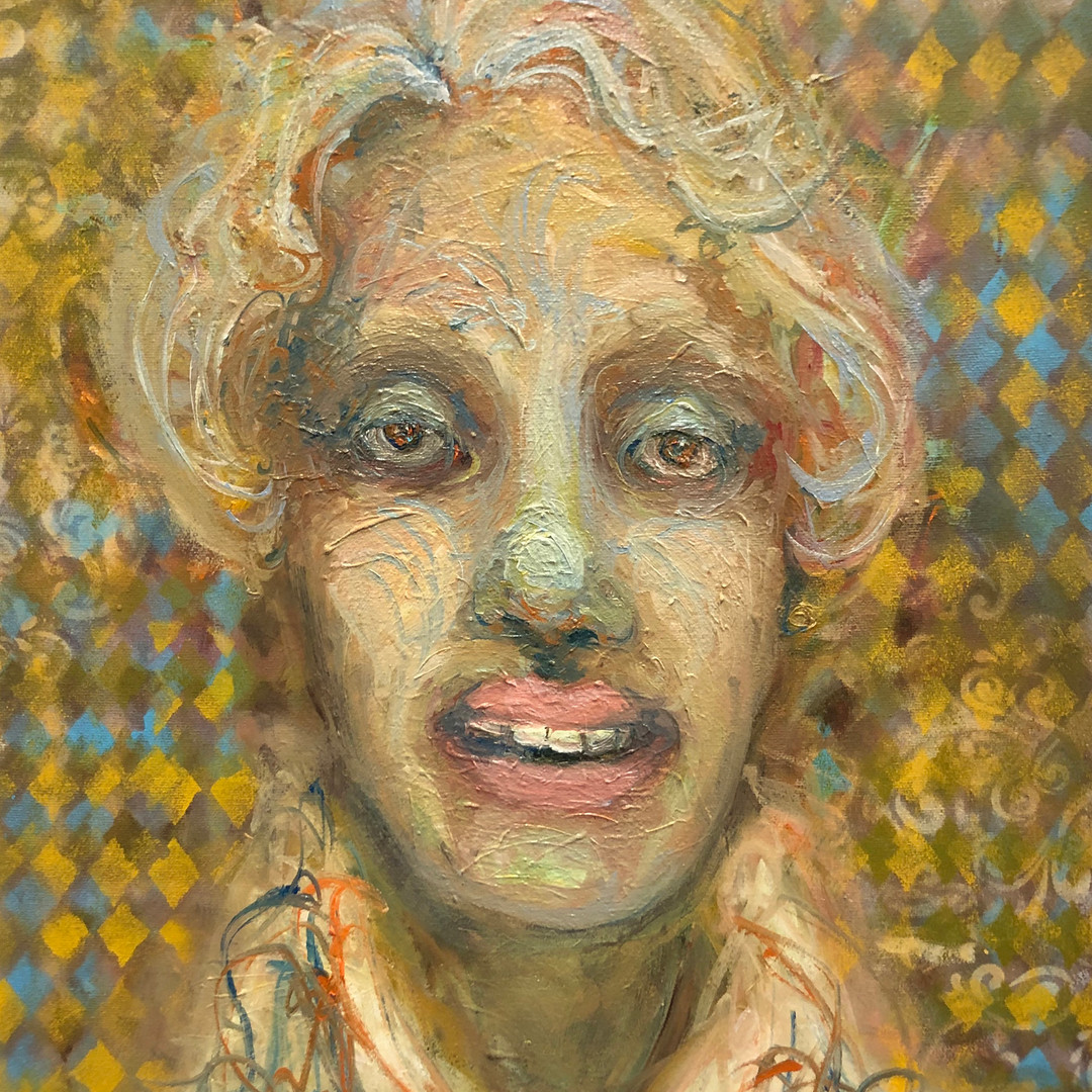 Call Me Coiffed, I Just Left the Salon_2019_20x16in_Oil.