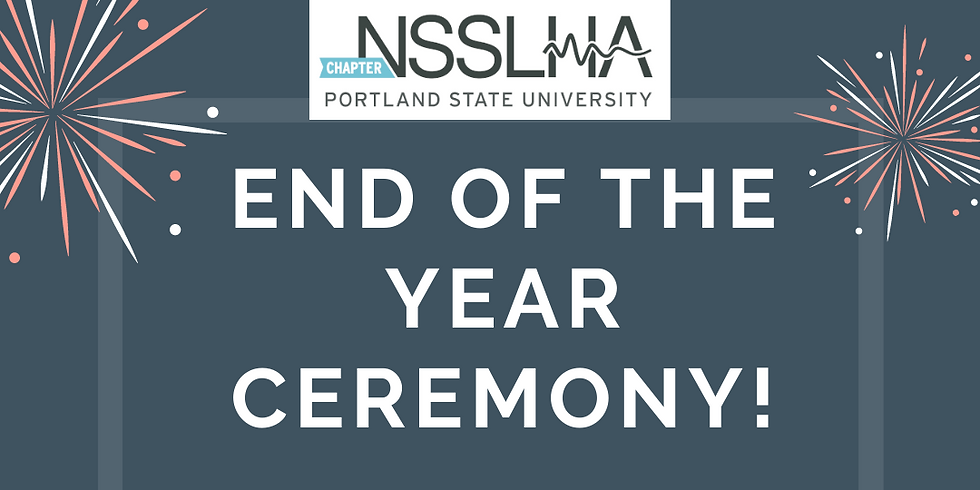 NSSLHA End of the Year Ceremony