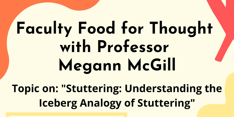 Food for Thought with Professor Megann McGill
