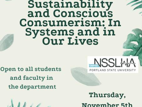 Sustainability Event: Recap