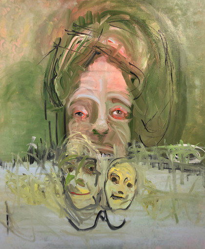 Matushevitz_Cluster 13_36in x 30in_ Oil on Canvas