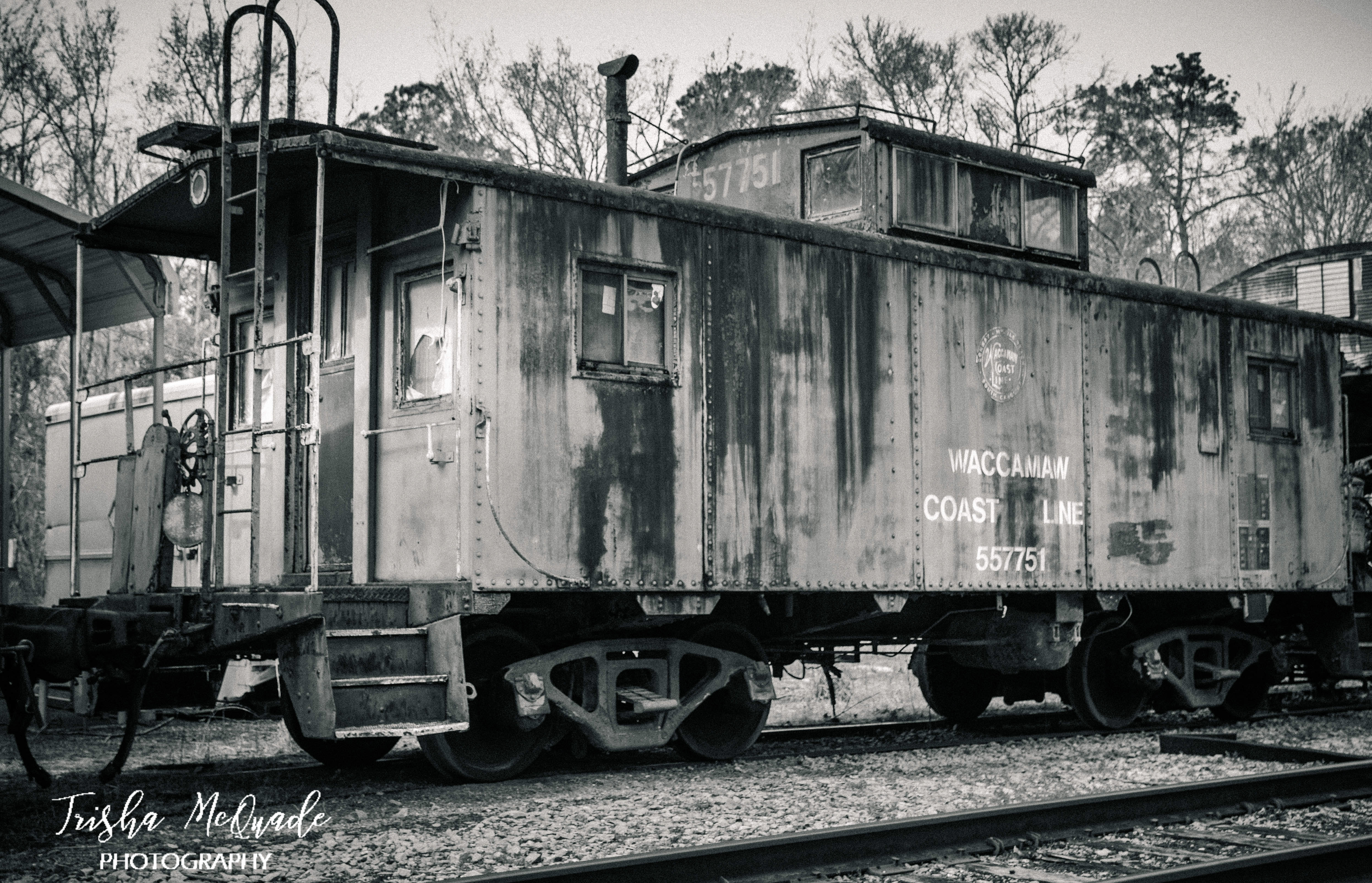 Retired Caboose