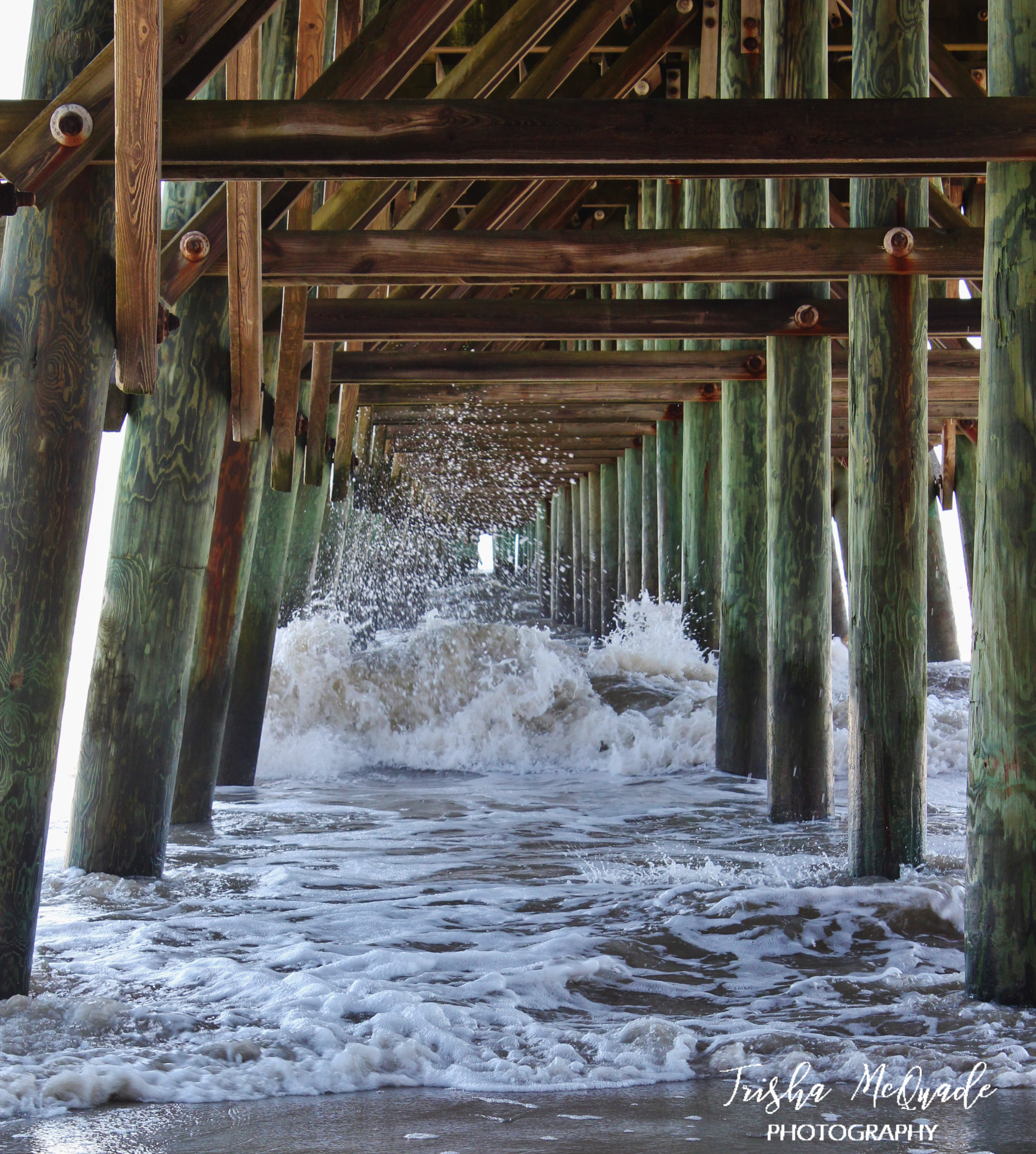 2nd Ave Pier Wave Burst