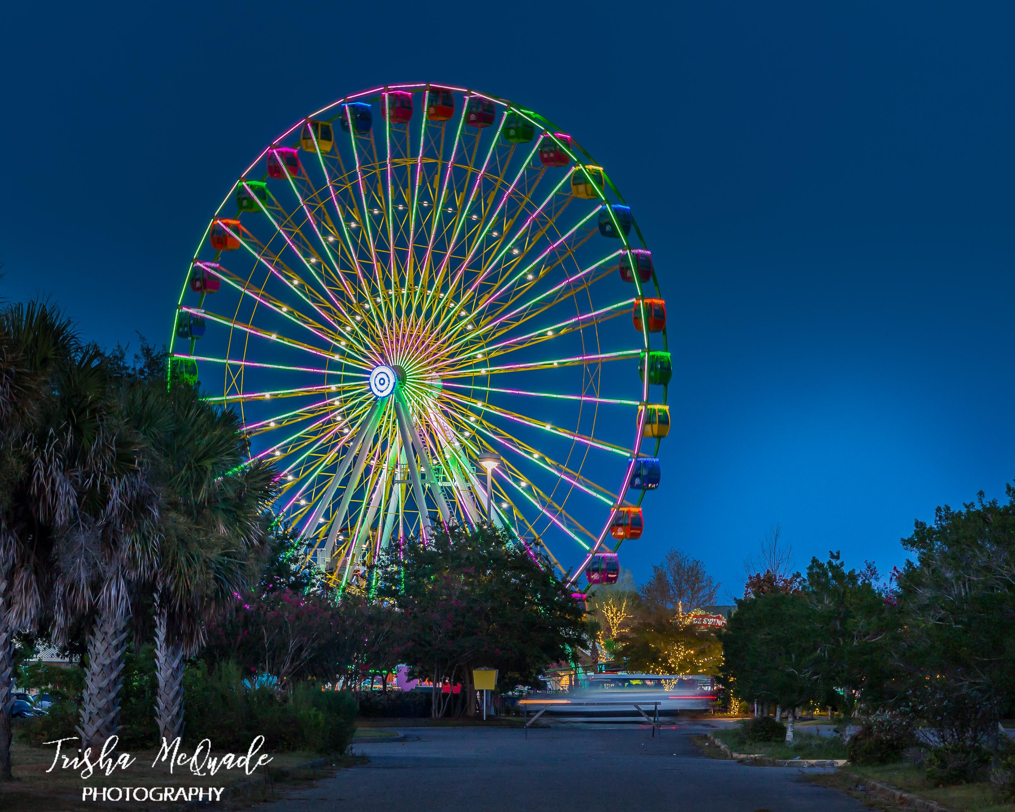 Blue Hour Wheel