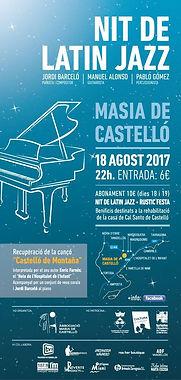 Nit de Latin Jazz a Masia Castelló