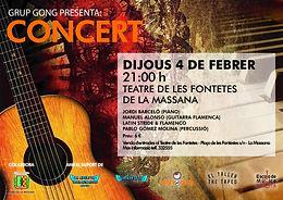 Concierto Latin Stride Flamenco
