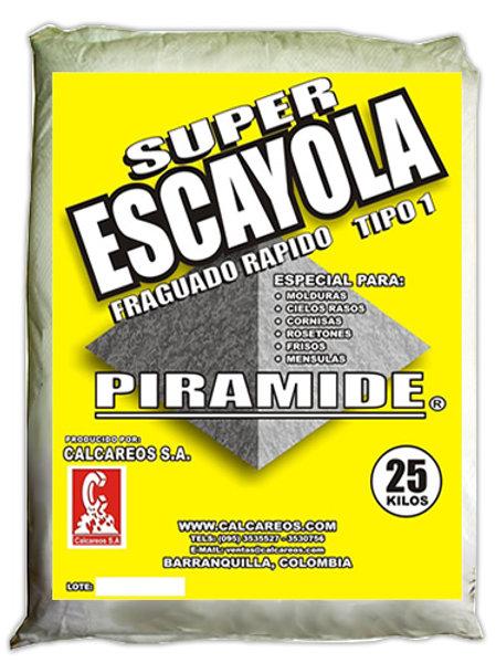 YESO ESCAYOLA PIRAMIDE