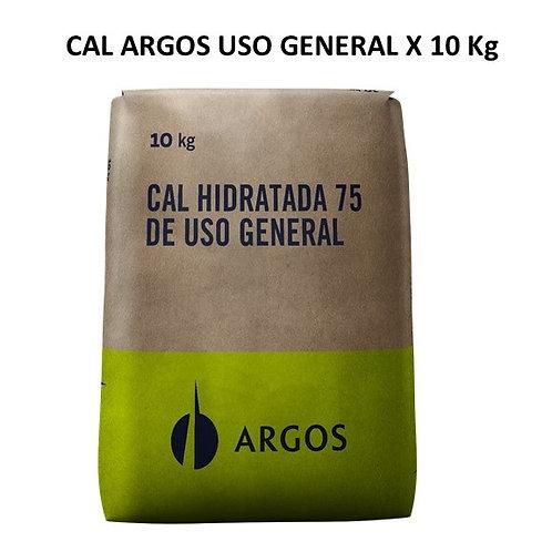 CAL ARGOS HIDRATADA X 10 KG