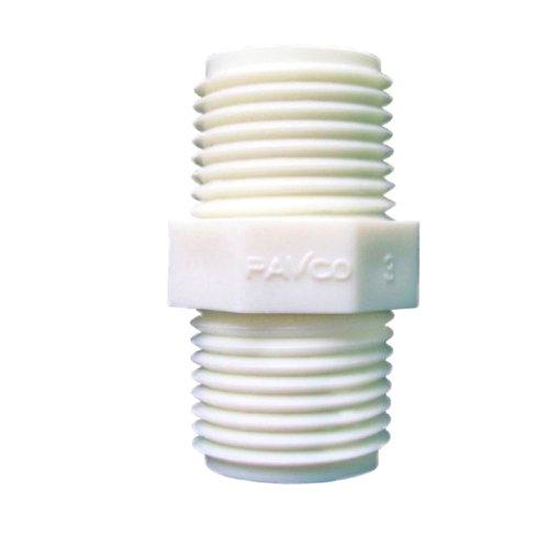 NIPLE PVC 1/2 ROS