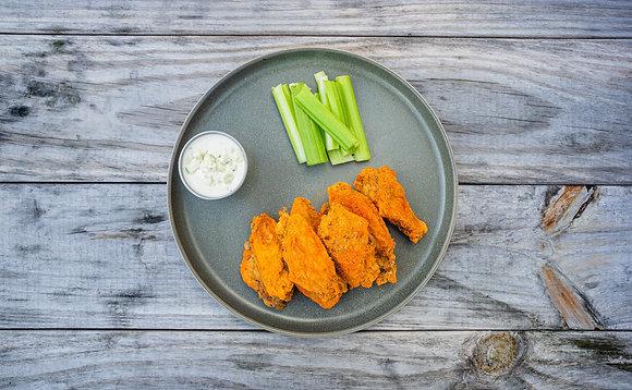 KETO Confit Chicken Wings