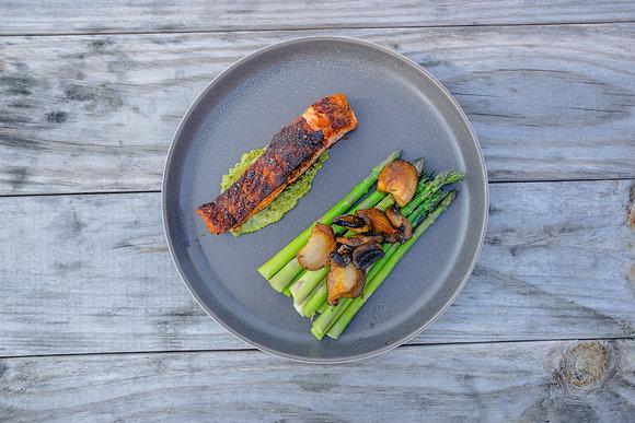 KETO Seared Salmon