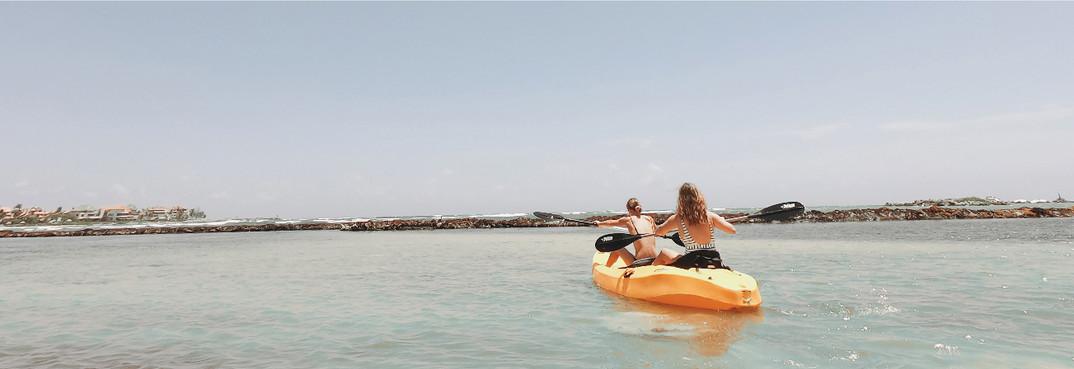 kayak casa del agua