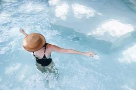 casa del agua pool