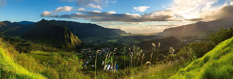 Vue Panoramique sur la Plaine des Palmistes