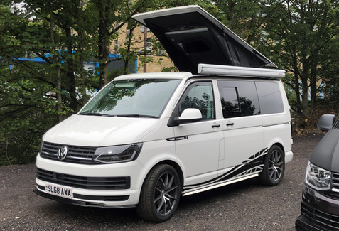 Prize Mob VW T6 campervan weekend compet