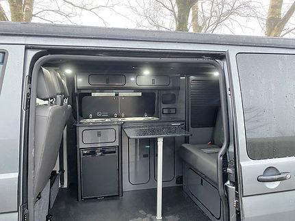 halifax campervan  Indium Grey VW T6 sal