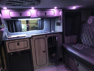 Halifax Campervan bespoke camper kitchen and interiors