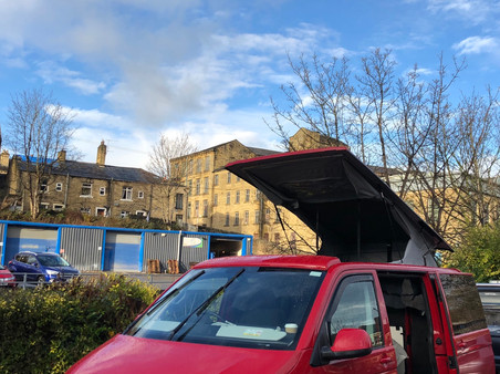 Halifax Campervan VanMax slimline pop top roof supplied and fitted from £2800