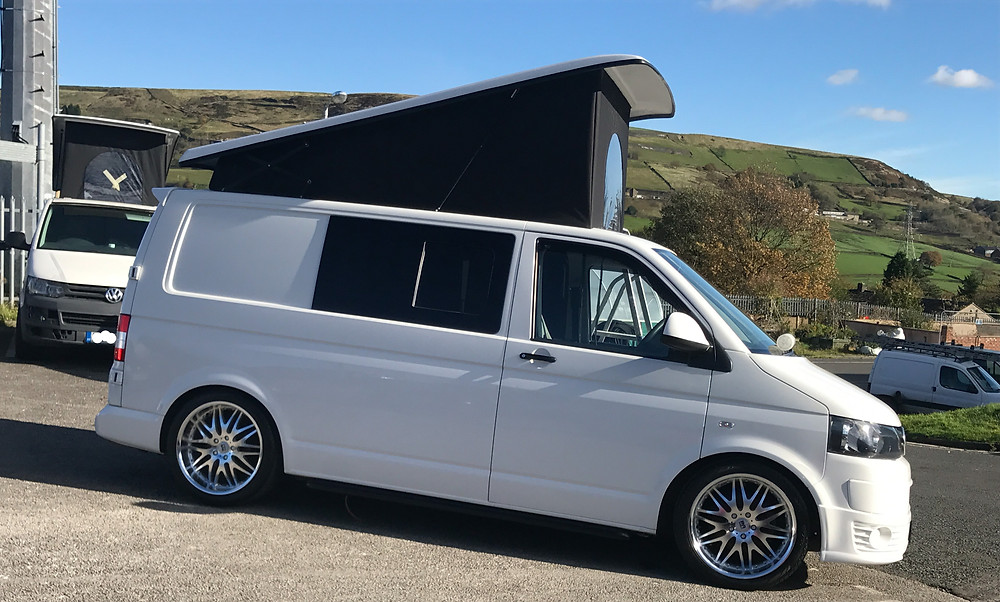 Halifax vw transporter campervan hire