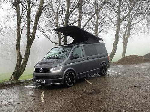 Volkswagen Transporter T6 2018 Fully converted campervan Indium Grey37312 Miles