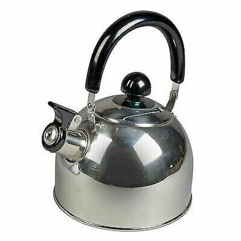KAMPA 2 Litres Whistling Kettle Chrome