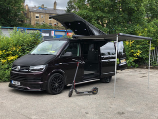 Blackberry VW T6 Halifax Campervan Hire