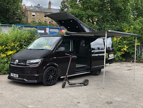 Blackberry VW T6 Halifax Campervan Hire