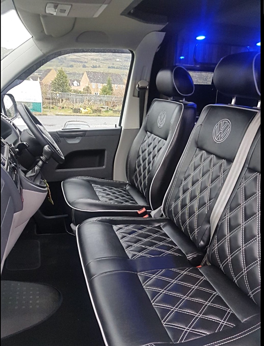 vw transporter campervan seats